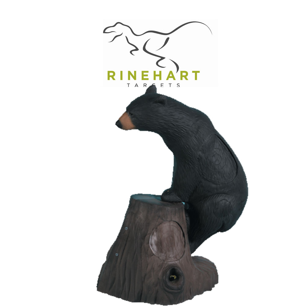 Rinehart Honey Bear & Tree Stump 3D